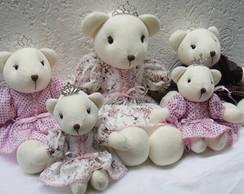 Kit com 5 ursas