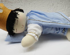 Boneco pr�ncipe dorminhoco