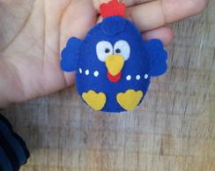Chaveiro galinha pintadinha