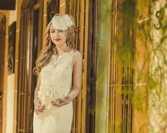 Vestido noiva renascen�a Modelo Tiffany