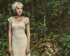 Vestido de noiva renascen�a Modelo Belle
