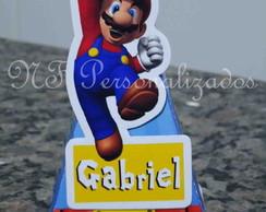 Cone Quadrado Mario Bros