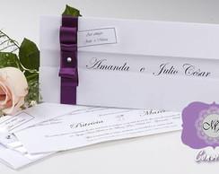 Convite de Casamento M�naco - R$1,99