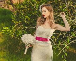 Vestido noiva em Renascen�a Modelo Blanc