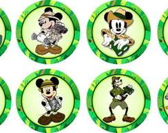 Mickey Safari 15 Adesivos