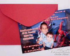 Convites  do Homem Aranha