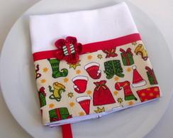 Pano de cozinha Natal