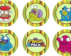 Trash Pack 15 Adesivos