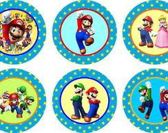 Mario Bros 15 Adesivos