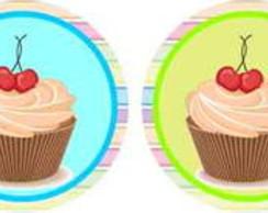 Cupcake 25 Topper Adesivo