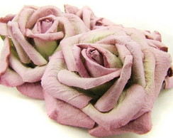 Large Mauve Mint Rose - Embalagem 1 Rosa