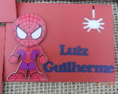 Envelope Personalizado homem aranha