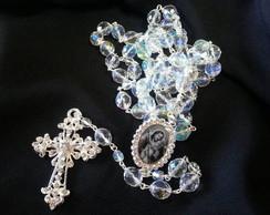 Ter�o para noivas de cristal boreal 10mm