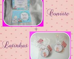 Promo��o convites + latinhas
