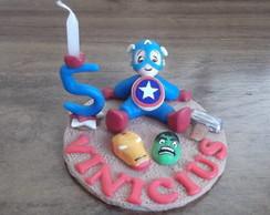 Topo de bolo Vingadores