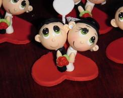 Noivos Cabe�udos olhos verdes