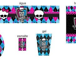 R�tulos Personalizados - Monster High