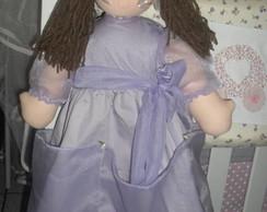 Boneca Princesa Emilly 60 cm