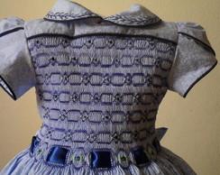 Belissimo Vestido Casinha De Abelha
