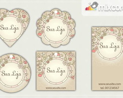 Kit Tags - Etiquetas Com Design Mod72