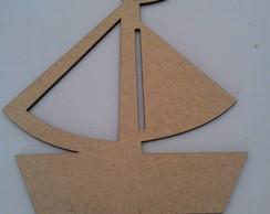 Recorte Barco 15cm  Mdf