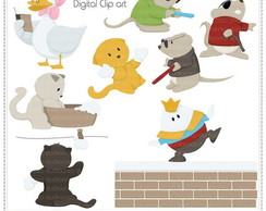 Nursery Rhymes Vol. 1 Clipart Digital