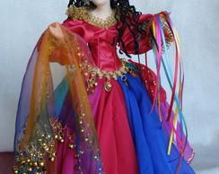 Boneca Cigana Sarah