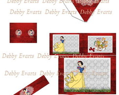 Kit digital Branca de neve luxo