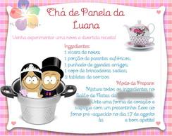 Convite Ch� de Panela/Cozinha
