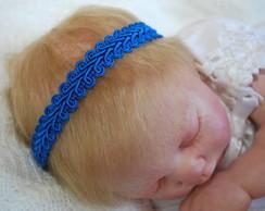Faixa renda guipir azul: ELETRIC BLUE