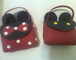 Bolsinha da Minnie e Mickey