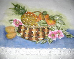 pano de copa -pintura porcelanizada