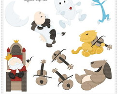 Nursery Rhymes Vol. 2 Clipart Digital
