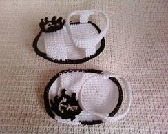 Sand�lia croch� masculina - marinheiro