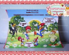 Caixa Pillow Pica Pau - Convite