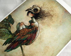 Impress�o Gicl�e Soul of a Bird - A4