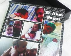 Caixa Fotos (personalizada) Pai