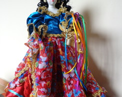 Boneca Cigana das Fitas