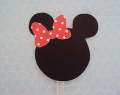 Topper Minnie com La�o