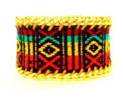 60% off Pulseira Bordada Tropicana