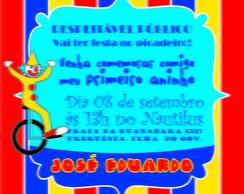 Convite PALHA�O