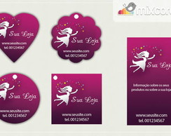 Kit Tags - Etiquetas com Design! mod19