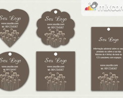 Kit Tags - Etiquetas com Design! mod21