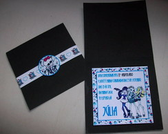 Convite Monster High Grande