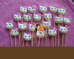 Palitos Marshmallow Hello Kitty
