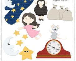 Nursery Rhymes Vol. 4 Clipart Digital