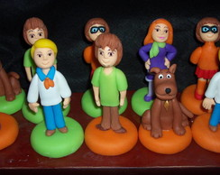Potes de papinha Scooby e sua turma