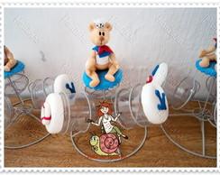 baleiros centro de mesa urso marinheiro