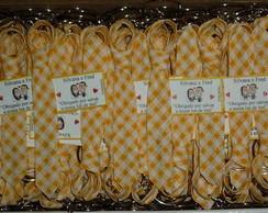 50 Gravatinhas chaveiro