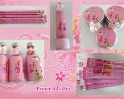 Kit Personalizado Barbie 12 bailarinas